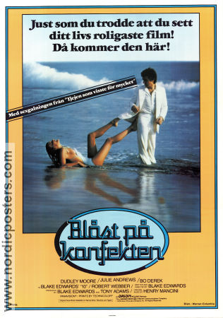 10 Ten 1979 poster Dudley Moore Blake Edwards