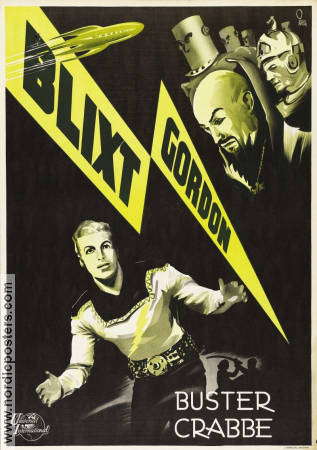 Flash Gordon 1936 Buster Crabbe Jean Rogers