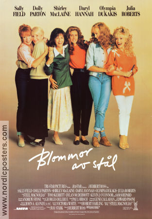 Steel Magnolias 1989 Movie poster Sally Field
