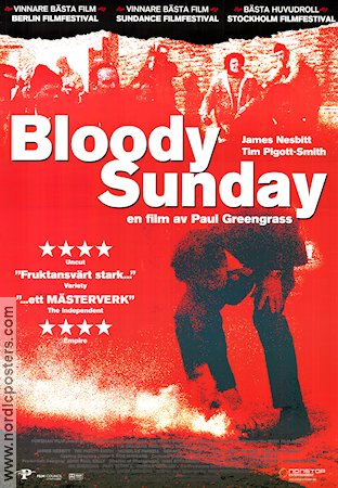 Bloody Sunday 2002 poster Paul Greengrass