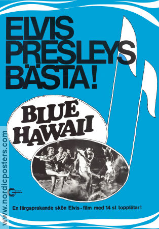 Blue Hawaii 1961 poster Elvis Presley Norman Taurog