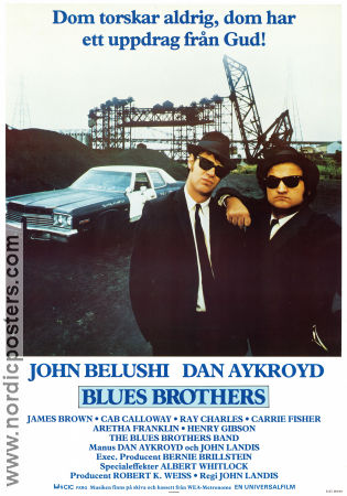 The Blues Brothers 1980 poster John Belushi John Landis