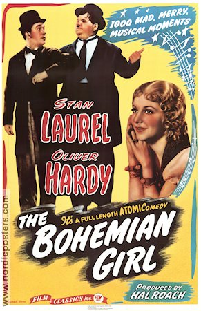 The Bohemian Girl 1936 James W Horne Helan och Halvan Laurel and Hardy Thelma Todd