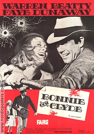 Bonnie and Clyde 1967 Arthur Penn Warren Beatty Faye Dunaway Gene Hackman