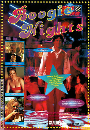 Boogie Nights 1997 Paul Thomas Anderson Mark Wahlberg Burt Reynolds Heather Graham