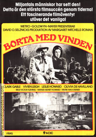 Gone with the Wind 1939 Victor Fleming Vivien Leigh Clark Gable Margaret Mitchell Leslie Howard Olivia de Havilland