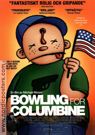 Bowling for Columbine 2002 Movie poster Michael Moore