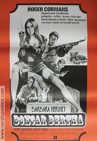 BOXCAR BERTHA Movie poster 1976 original NordicPosters
