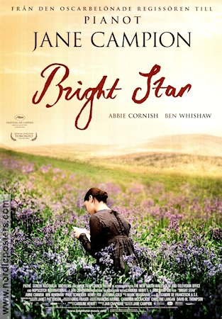 Bright Star 2009 movie poster Abbie Cornish Jane Campion