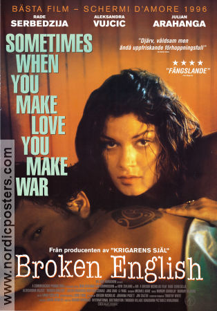 Broken English 1997 poster Rade Serbedzija