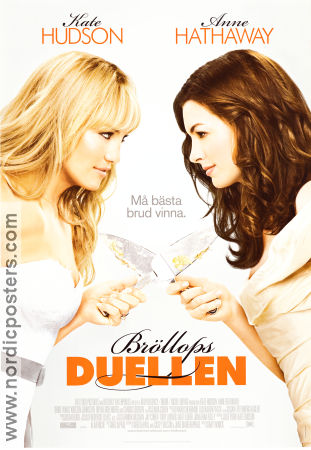 Bride Wars poster 2009 Kate Hudson original