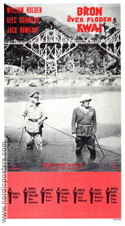 The bridge on the river kwai 1957 david lean william holden alec