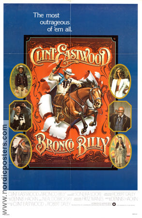 Bronco Billy 1980 Clint Eastwood Sondra Locke