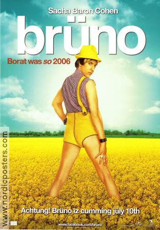 br252no poster advance 2009 sacha baron cohen original