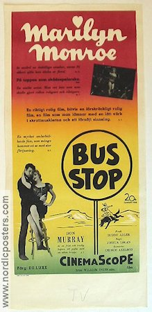 Bus Stop 1956 Marilyn Monroe Don Murray