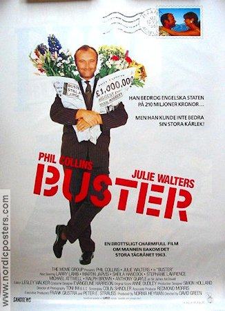 Buster Movie Poster 1988 Original Nordicposters
