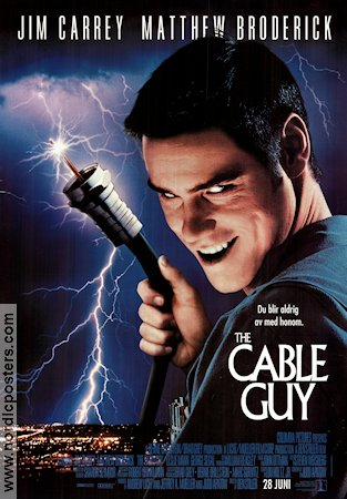 The Cable Guy 1998 Jim Carrey Matthew Broderick