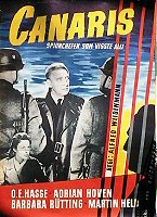 Canaris 1955 poster Adrian Hoven