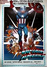 Captain America 1980 poster Rob Brown