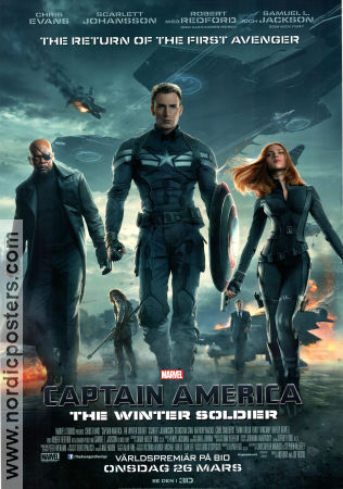 Captain America The Winter Soldier 2014 poster Chris Evans Anthony Russo