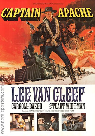 Captain Apache 1971 poster Lee Van Cleef