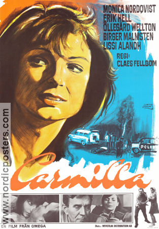 Carmilla 1968 Claes Fellbom Monica Nordquist Erik Hell �lleg�rd Wellton