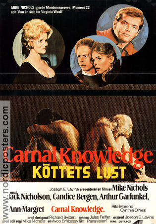 Carnal Knowledge 1971 poster Ann-Margret Mike Nichols