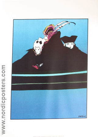 Carneval a Venise Moebius 1991 poster