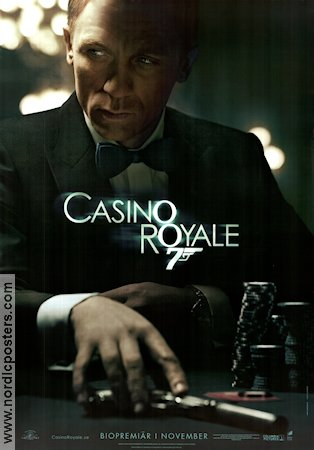 Casino Royale 2006 Movie poster Daniel Craig