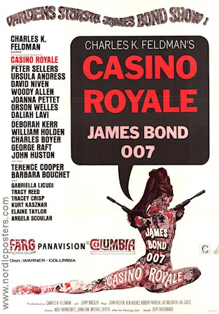 Casino Royale 1968 poster Peter Sellers