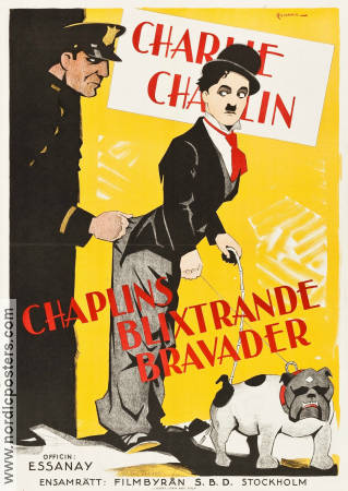 The Tramp 1915 poster Charlie Chaplin