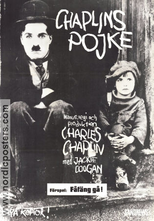 The Kid 1921 Charlie Chaplin Jackie Coogan Silent movie