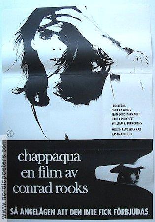 Chappaqua (film) Chappaqua poster 1967 Conrad Rooks original
