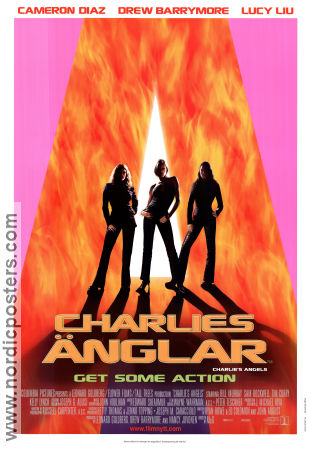 Charlie's Angels 2000 Movie poster Cameron Diaz