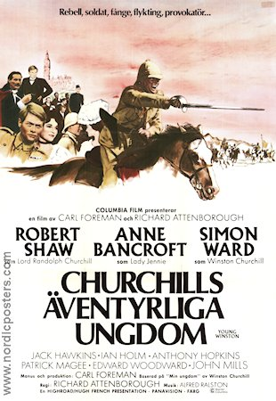 Young Churchill 1972 Movie poster Robert Shaw