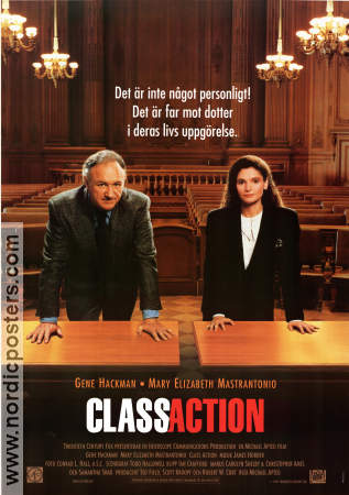 Class Action 1991 poster Gene Hackman