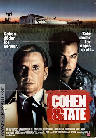 Cohen and Tate 1988 Movie poster Roy Scheider