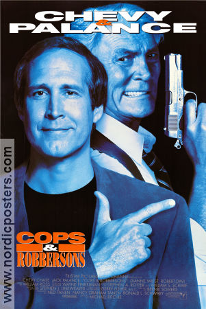 Cops and Robbersons 1994 poster Chevy Chase