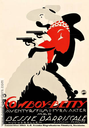 Two-Gun Betty 1918 poster Bessie Barriscale