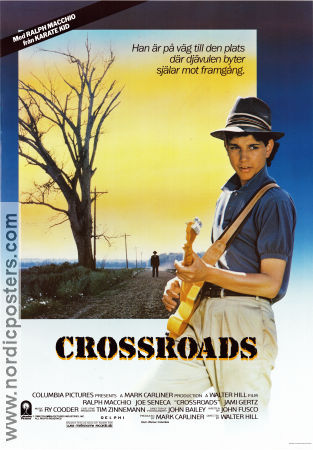 Ralph Macchio Crossroads Movie Poster 1986 Original