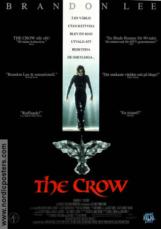 The Crow 1994 poster Brandon Lee