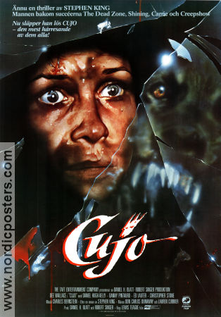 Cujo 1983 poster Dee Wallace Lewis Teague