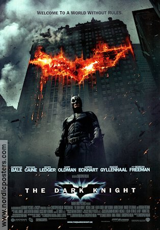 The Dark Knight 2008 Christopher Nolan Christian Bale Michael Caine Heath Ledger Batman