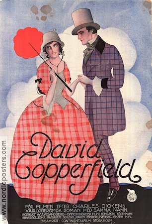 David Copperfield 1923 movie poster Margarete Schlegel