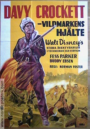 Davy Crockett King of the Wild Frontier 1955 Fess Parker Davy Crockett