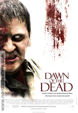 DAWN OF THE DEAD Movie poster 2004 original NordicPosters