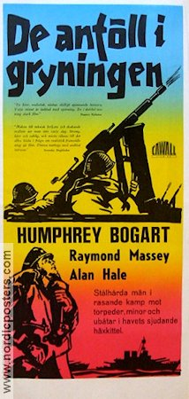 Action in the North Atlantic 1943 poster Humphrey Bogart