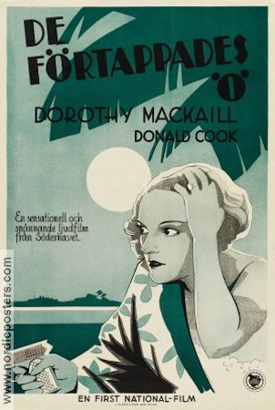 Safe in Hell 1931 poster Dorothy MacKaill