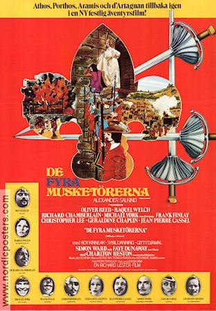 The Four Musketeers 1974 Richard Lester Raquel WelchThe Four Musketeers 1974