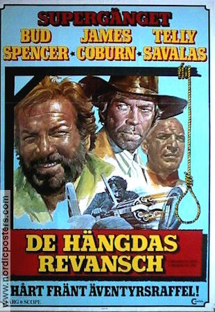 A Reason to Live 1972 Movie poster Bud Spencer
